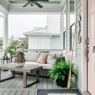 Front Porch, Lost Cay Cottage