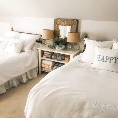 Guest Bedroom, Summer Style